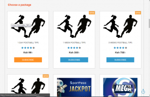 Sportpesa tips sportpesagoals package page